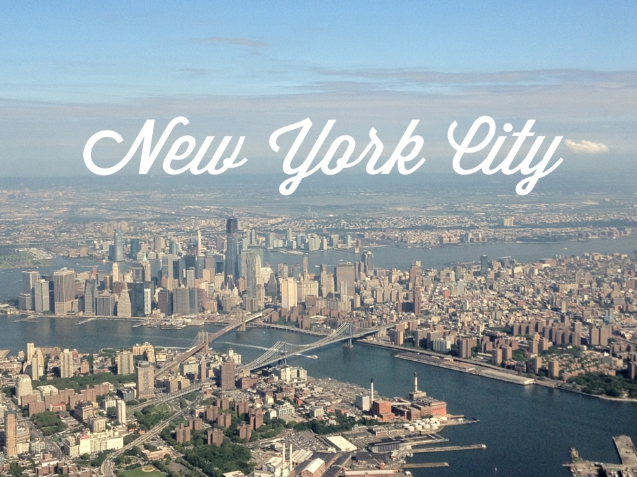 Next stop NYC...
