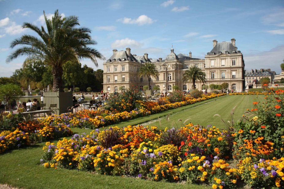 Jardin du Luxembourg in August