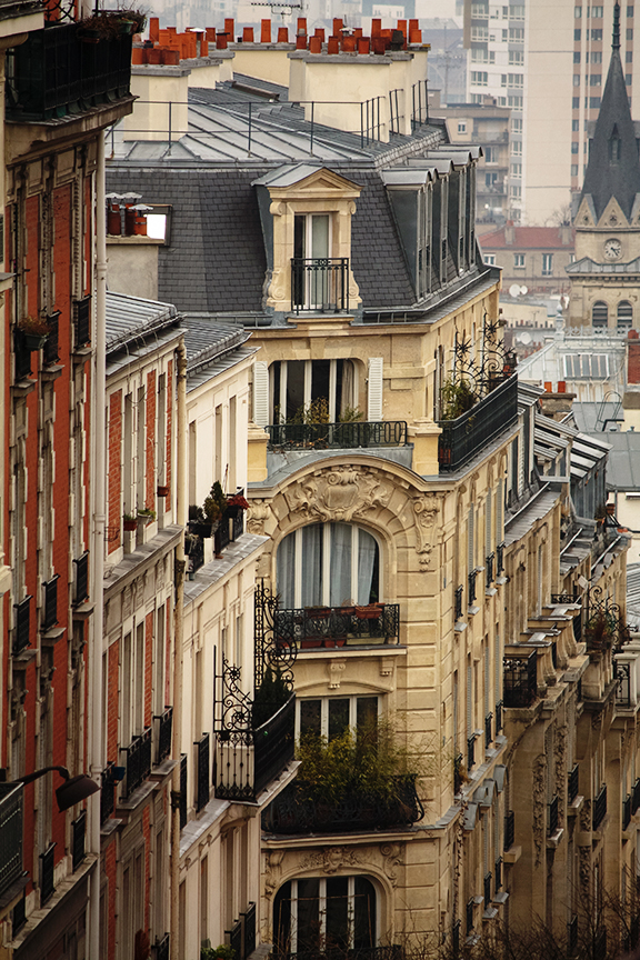 Romantic Rooftops of Montmartre