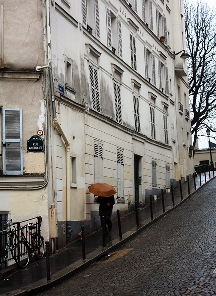 Rainy Day in Montmartre