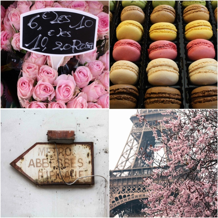 Paris in Pink and Brown