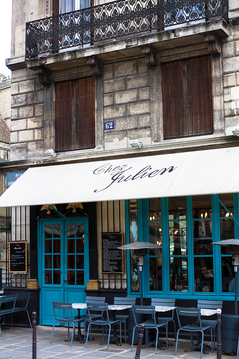 Chez Julien in the Marais