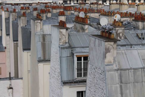 paris rooftop photo