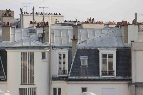 paris rooftop photo
