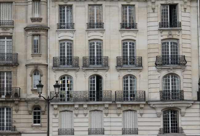 windows on the seine
