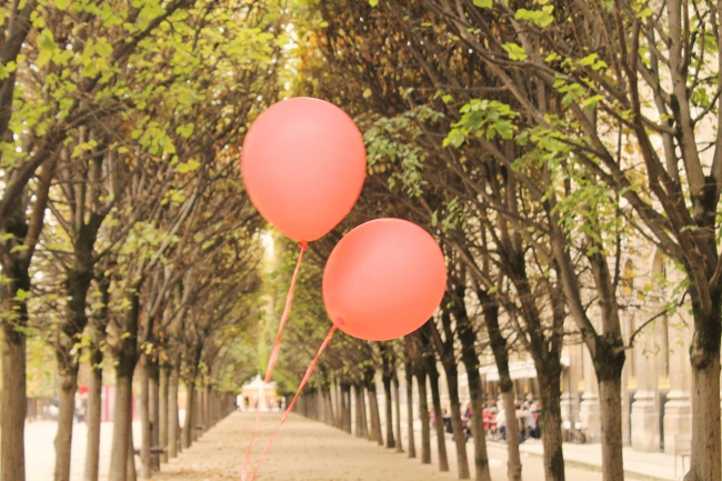 red ballons paris