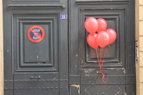 Paris Red Balloon