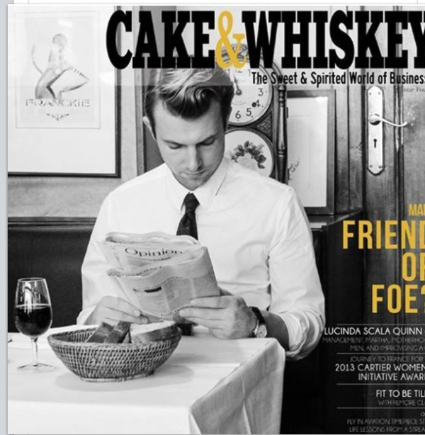cake and whiskey cover