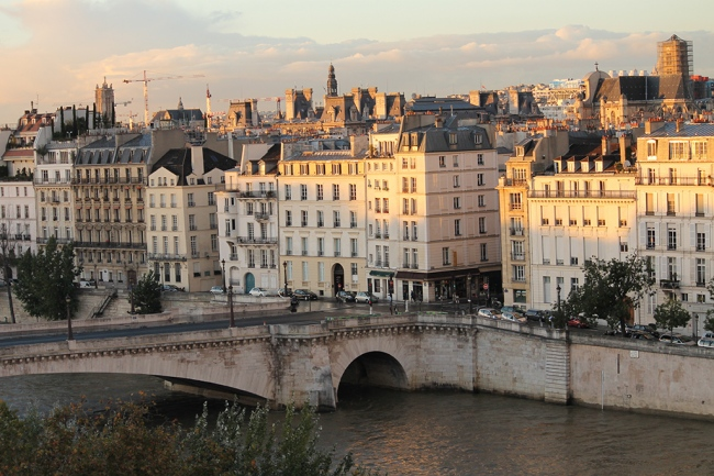 seine view of paris