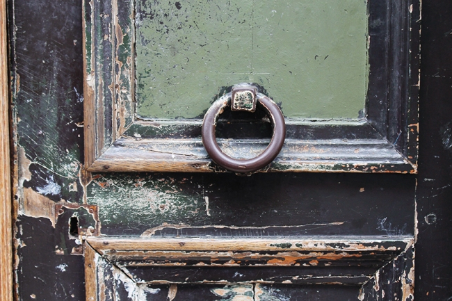 rustic paris door