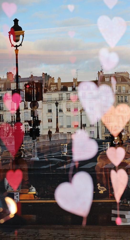 paris heart reflection