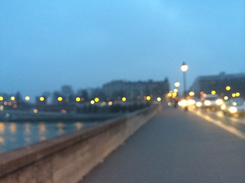 paris seine blur