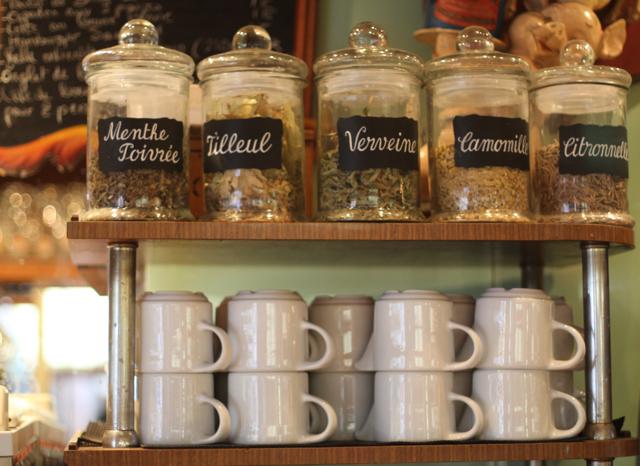 Paris, France tea at Paul Bert