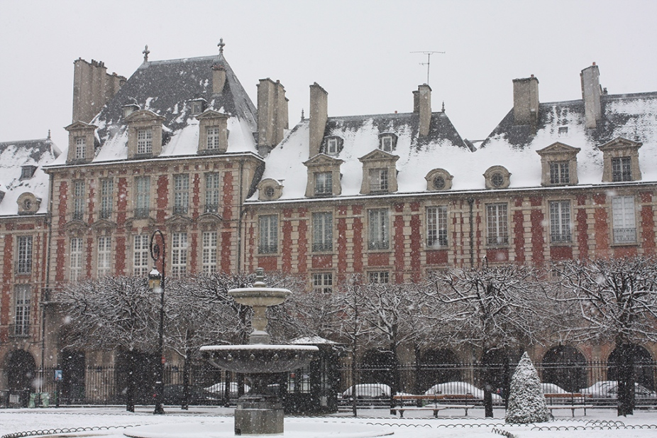 Paris in the Snow
