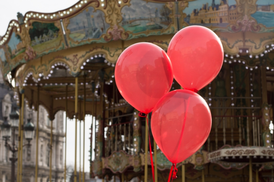 Red Balloons Paris